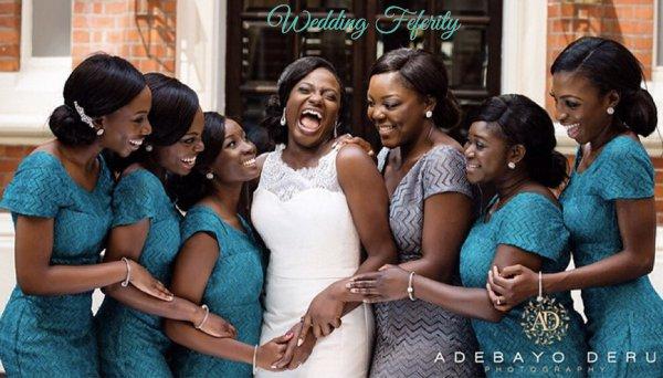 blue-bridesmaids-dresses-for nigerian-weddings