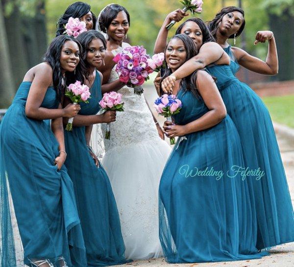 blue-bridesmaids-dresses-lagos-wedding