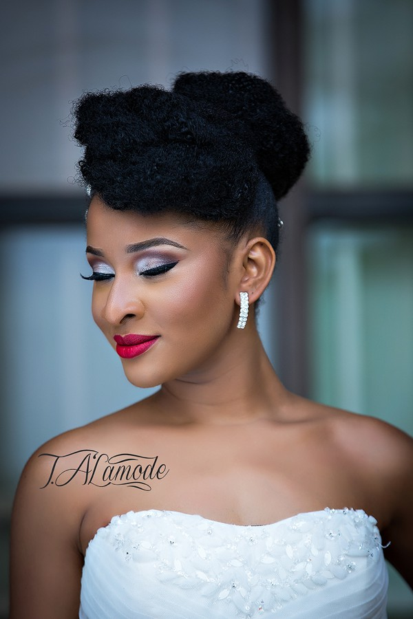 Naija White Wedding Makeup : Stunning Makeup and Fabulous Natural Hair Styles! - Bridal ...