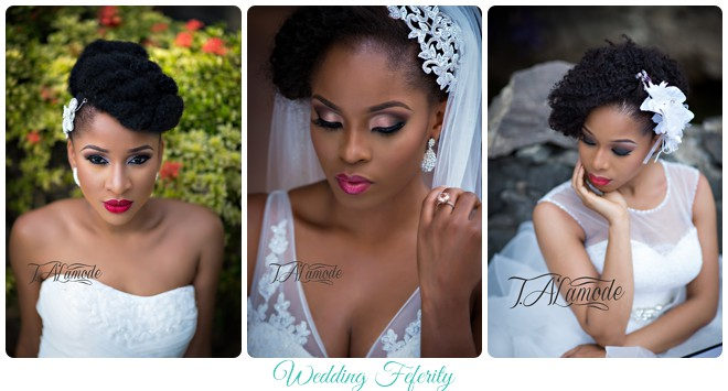 Stunning Makeup And Fabulous Natural Hair Styles Bridal