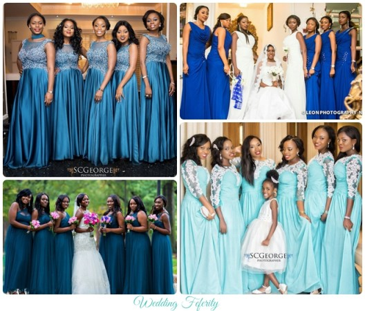 nigerian wedding bridesmaids dresses