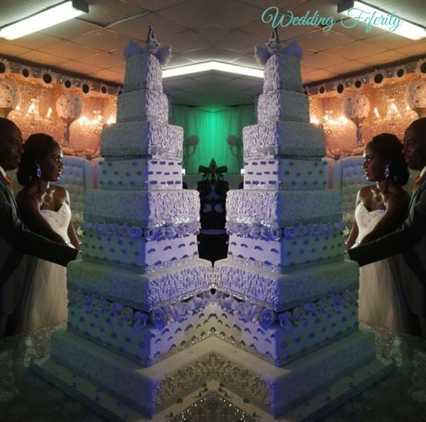 nigerian wedding cakes 5