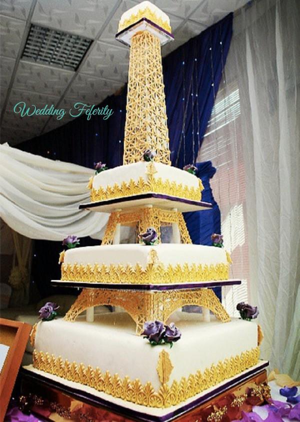 nigerian wedding cakes 9