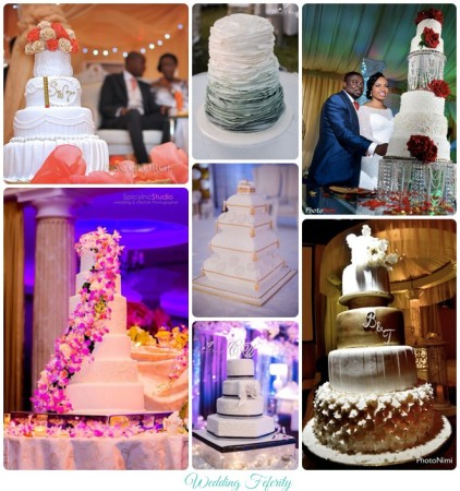 nigerian wedding cakes photos