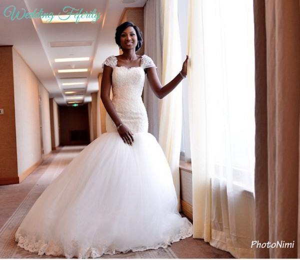 Nigerian Reception Dresses 53