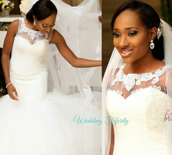 Nigerian Wedding Dress Photo