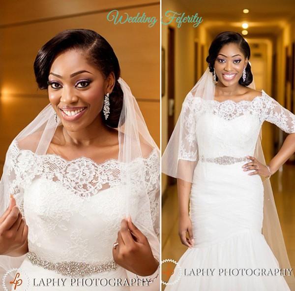 Nigerian Wedding Dresses - The 2015 Edition
