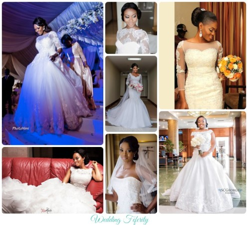 Nigerian Wedding Dresses 2015 50 Stunning Looks