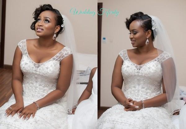photos nigerian wedding dress
