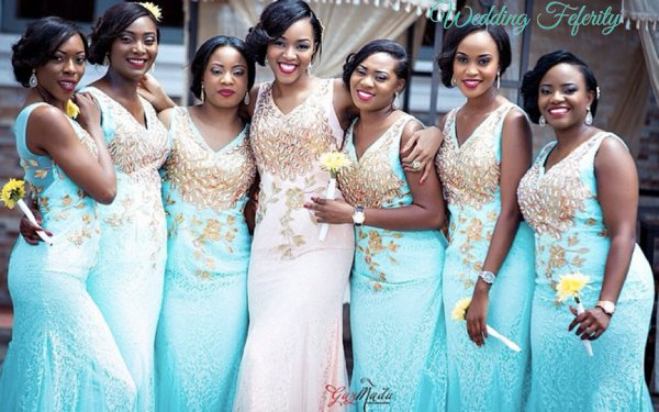 picture-of-nigerian-bridesmaids-in-blue