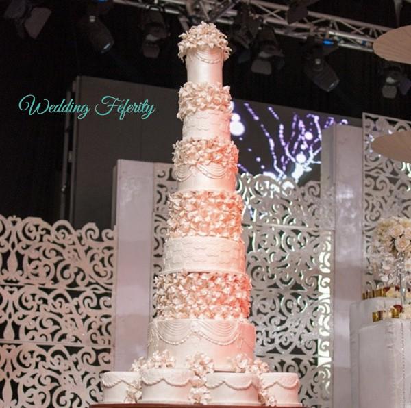 nigerian wedding cakes 7