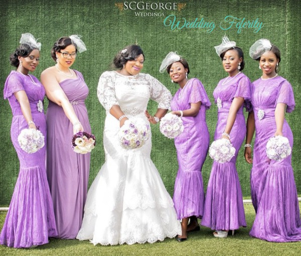 Nigerian Wedding Bridesmaid