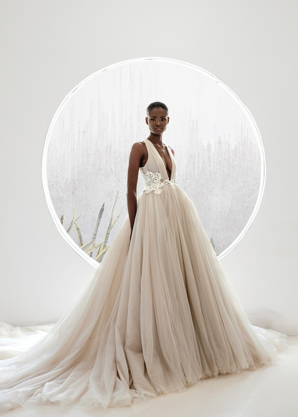 african american bride wedding dress