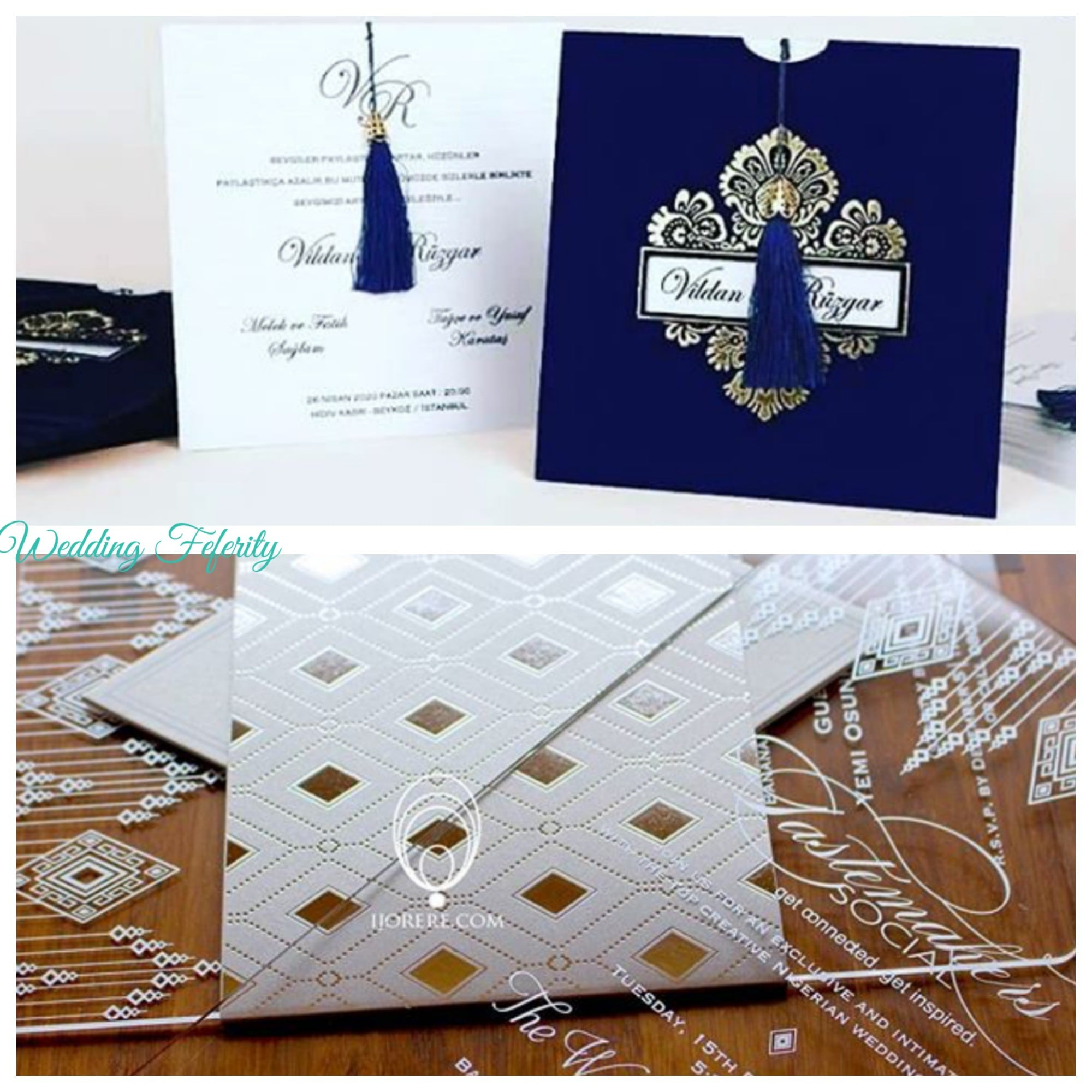 Nigerian weddings in 2018 inspiration and trends unique wedding invitations lagos 2018 stopboris Image collections